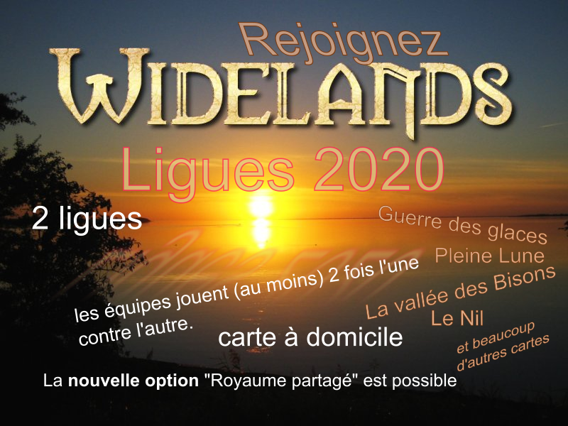 Ligue Widelands 2020