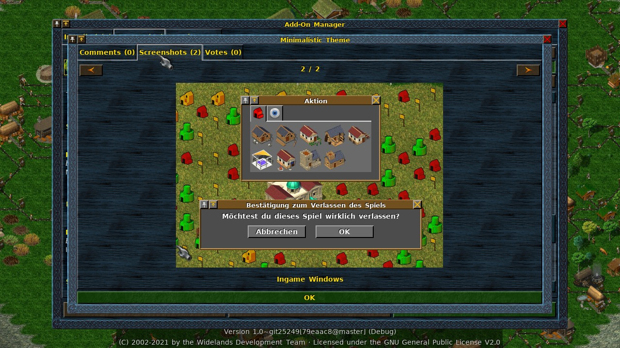 addons screenshots